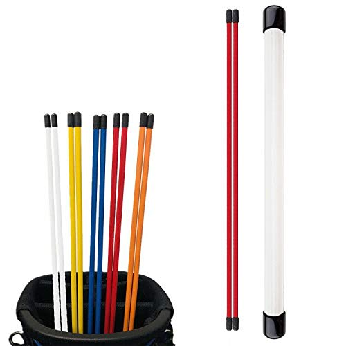 FINGER TEN Golf Alignment Sticks with Cover