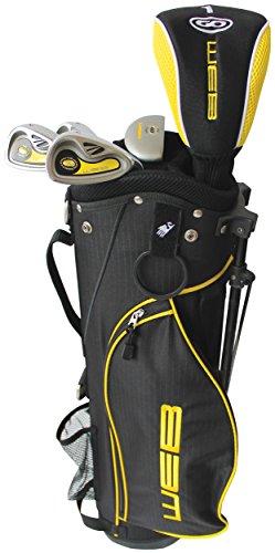 Go Kids' Web Golf Set, Yellow