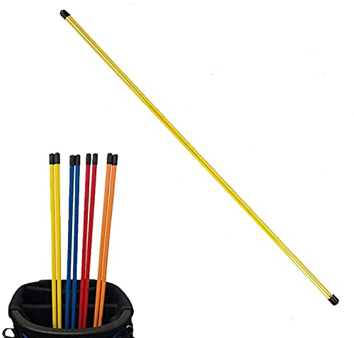Golf Alignment Stick Sticks Training Aid Rods Rod Cover Tool Swing Trainer Aids Set
