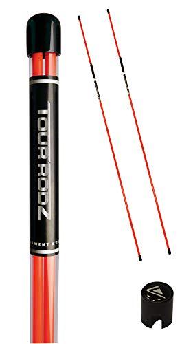 Longridge Tour Rodz Alignment Sticks Golf Practice Aid