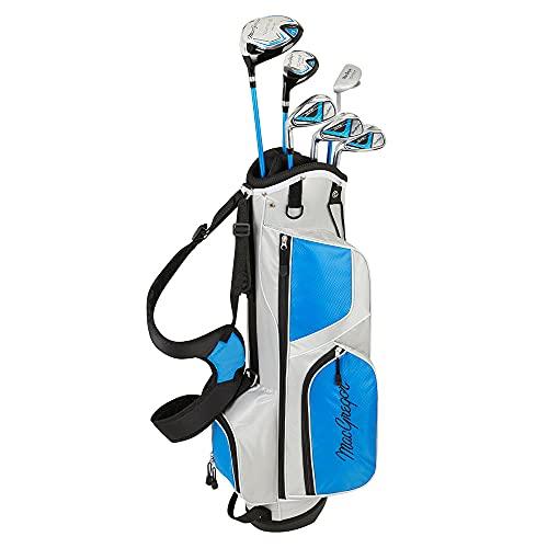 MACGREGOR Boys' Tourney II Left Hand Golf Set-Blue