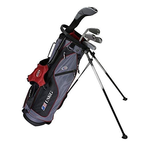 U.S. Kids 2017 Golf Ultra Light, 5 Club Carry Golf Set with Bag