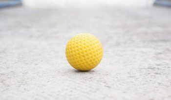 Why do People Draw lines on Golf balls?