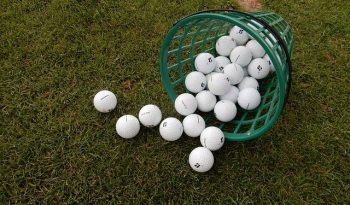 Why does Golf Balls Float in Slat Water?